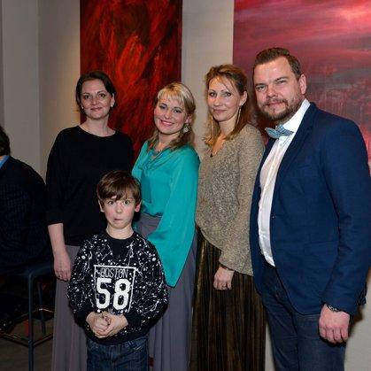 Baiba Ābelīte exhibition opening event
