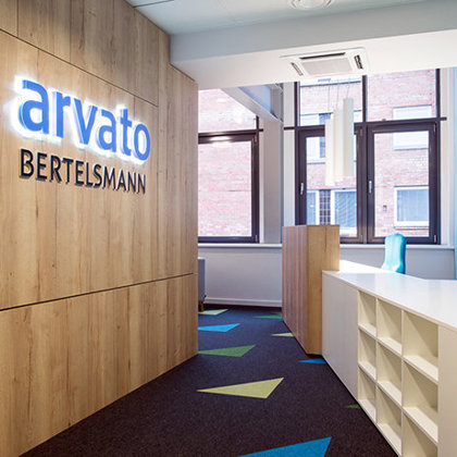 arvato BERTELSMANN office in Riga, 2017